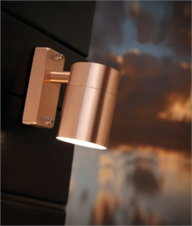 Natural Copper Wall Mounted Downlight For GU10 Lamps