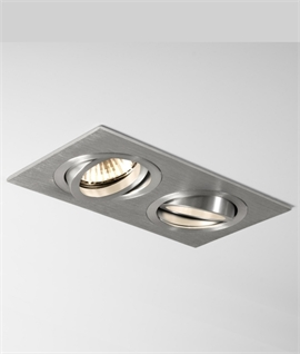 newest a2e31 32f69 Multiple Recessed Downlights For Kitchens | Lighting Styles