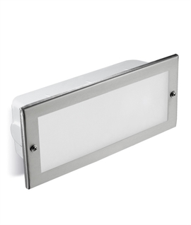 Stainless Steel Recessed Brick Light - IP44
