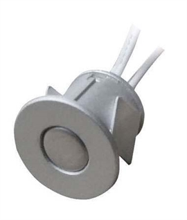 Satin Silver Recessed Pressure Sensitive Dimmer