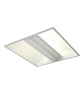 Fluorescent Ceiling Light - Perforated Glare Reducer