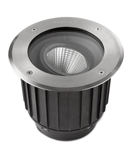Recessed Ground IP67 LED Uplight 316 Marine Grade Steel