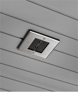 Recessed LED Soffit Light - Adjustable Beam
