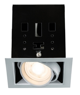 Recessed LED Square Adjustable Downlight with Box