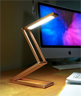 Rechargeable Folding Desk Light - Gold or Rose GOld
