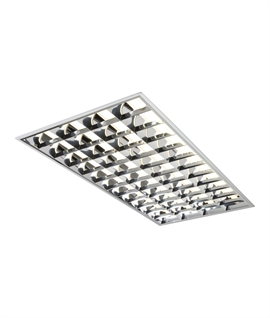 T8 Fluorescent Recessed Low Glare Ceiling Light