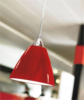 Metal Simple but Stylish Pendant - 3 Finishes