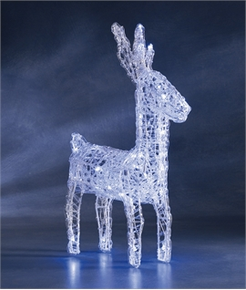 Acrylic LED Reindeer 440mm High