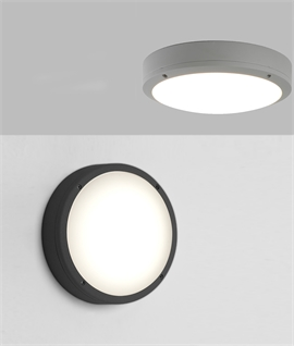 Corrosion Resistant Round LED Bulkhead Light D:275mm