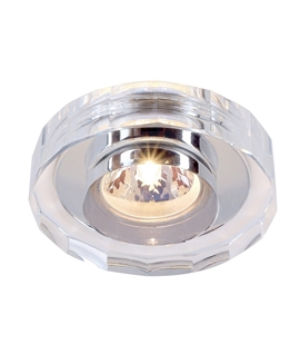 Round Crystal Glass Downlight