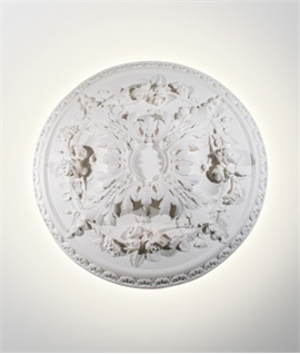 Traditional Rosace Wall Light