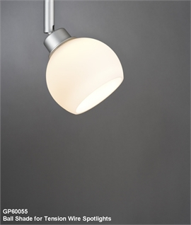 Shades for Tension Wire Spotlights