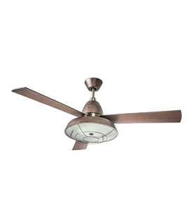 Urban Edge 3-Blade Ceiling Fan with Remote Control