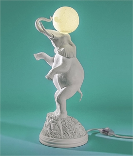 Elephant Table Lamp - Dimmable