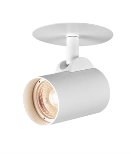 Semi-recessed Spotlight - Clean Look for Walls and Ceilings