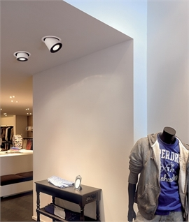 Fully Adjustable LED High Output Recessed Downlight