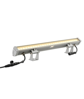 Exterior LED Wallwasher - Link Connectable - Grey
