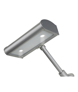 Black Metal LED Exterior Sign Light - IP44 Rated