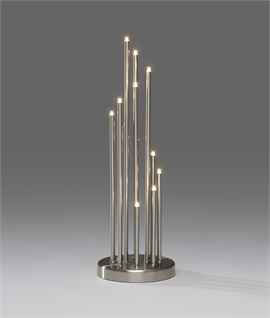 Modern LED Spiral Candlestick - 3 Finishes