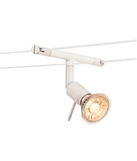 Simple Adjustable Low Voltage Tension Wire Lamp