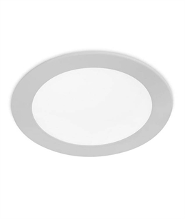 Slim Profile Round LED Downlight - Two Finishes