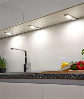 Slim Surface Mounted Under Cabinet Spot Lighting - Touch Sensor