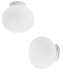 Mini Glo-Ball by Flos for Ceiling or Wall