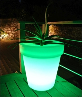 Colour Changing Plant Pot H:640mm - IP54 Rated