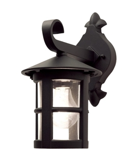 Small Exterior Black Wall Lantern