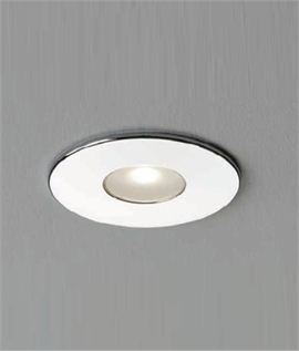 Small Recessed Shallow Profile IP65 Spot