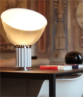 Uber Retro Table and Floor Light - Small Taccia by Flos
