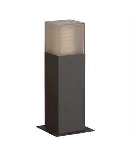 Modern Black Energy Saving Mini Bollard H:300mm