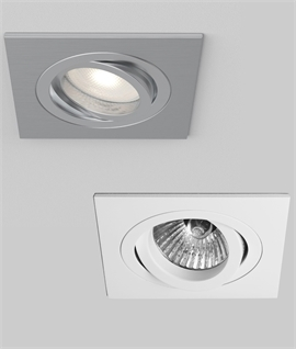 Fire Rated Mains Square Adjustable Downlight