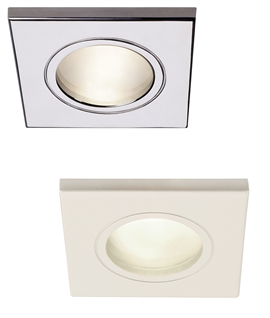 Square Soffit Downlight for GU10 Mains Lamps