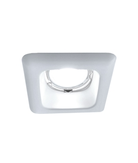 Square Simply Styled Recessed Downlight - IP23