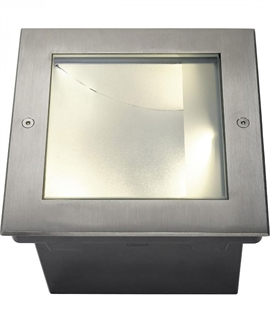 Inground Asymmetrical Floodlight and Uplighter - LED in Warm or Neutral White