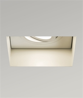 Adjustable Square Fire Rated Trimless Downlight