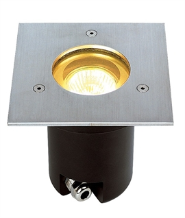Buried Exterior Uplighter Square or Round for GU10 Lamps