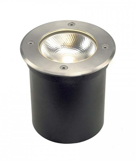 Stainless Steel Exterior LED COB Uplighter