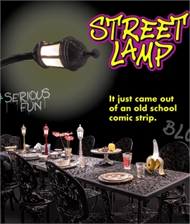 Street Lamp Dining Rechargeable Table Lamp