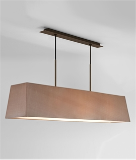 Stunning Contemporary Wide Ceiling Pendant - Two Finishes