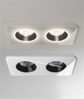 IP65 Twin Fixed LED Downlight