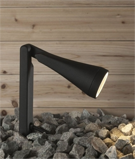 Stylish Adjustable Spike Light - IP44 Rated