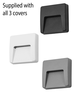 Square Surface Mounted Low-Glare LED Guide Light