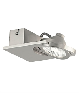 Square Surface Mounted Spotlight - Two Finishes