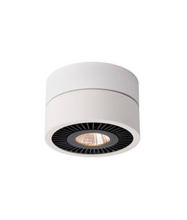 Surface Mounted LED White Adjustable Downlight