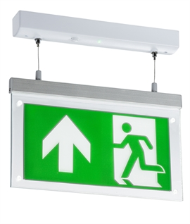 Suspended LED Emergency Exit Sign