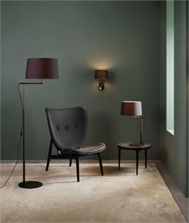 Smaller Contemporary Table Lamp - 3 Finishes with Choice Of Shades