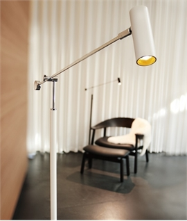 Trendy Adjustable Tall LED Floor Lamp