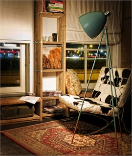 Vintage Tripod Floor Lamp - Two Finishes
